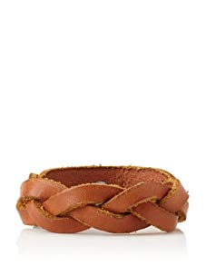 Will Leather Goods Unisex District Leather Cuff (Saddle)