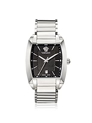 Versace Men's WLQ99D008 S099 Character Silver/Black Stainless Steel Watch