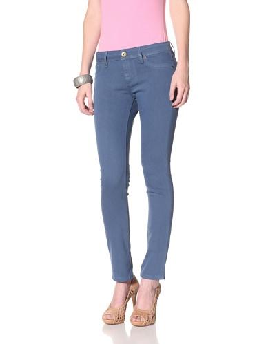 DL 1961 Premium Denim Women's Angel Ankle Jeans (Pebble)