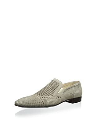 Dino Bigioni Men's Perforated Loafer (Tan)