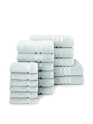 Chortex Irvington 17-Piece Towel Set, Mineral