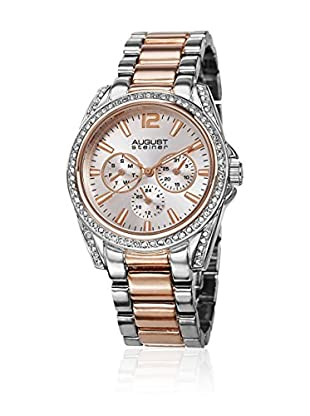August Steiner Reloj de cuarzo Woman AS8075TTR Plateado / Rosado 39 mm38.8 mm x 38.8 mm