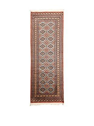 RugSense Alfombra Kashmir Gris/Multicolor 241 x 78 cm