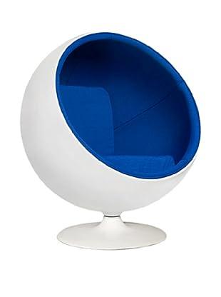 Manhattan Living Ball Chair, Blue
