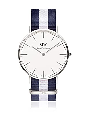 Daniel Wellington Reloj con movimiento cuarzo japonés Man Glasgow 40 mm
