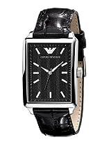 Emporio Armani Classic Analog Black Dial Men's Watch - AR0405