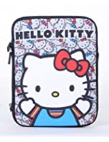 Hello Kitty Face Colored Bows Ipad Case