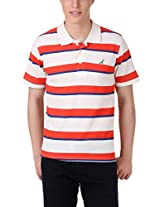 American Crew Men's Cotton Blend Polo T-Shirt(AC065-XXL_Multicolor_XXL)
