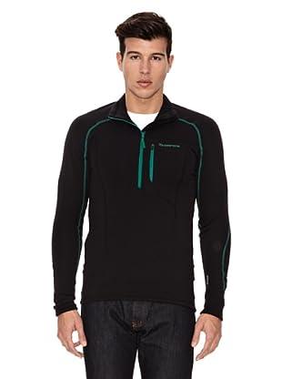Grifone Camiseta Timber (Negro / Verde)