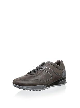 Tod's Men's Shiny Sneaker (Grey Ombre)