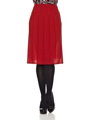 Monoplaza Falda Tablas (Rojo)