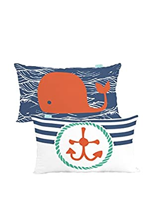 MOSHI MOSHI Funda De Cojín Ahoy