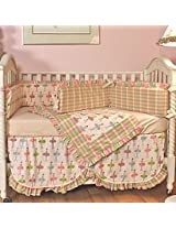 Ballerina 4 Piece Crib Bedding Set by HooHobbers