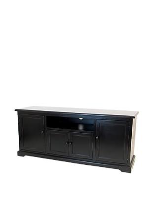 Charleston Plasma TV Console, Black