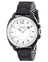 Coach Coach Boyfriend Silicon Rubber Strap Watch 14501475 - W1024 Blk Wmn