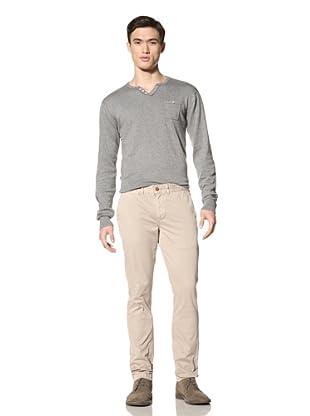 Just a Cheap Shirt Men's Slim Fit Chino (Khaki)