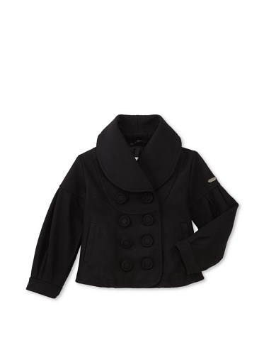 Diesel Girl's Jivis Peacoat (Black)