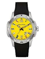 Nautica Sports Analog Yellow Dial Men's Watch - NAI13516G