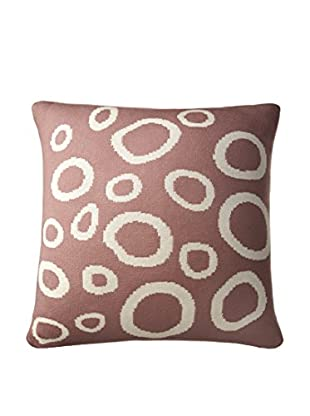 Amity Home Gaitlin Pillow, Plum/Ivory