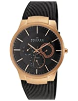Skagen Black Label Analog Brown Dial Men's Watch 809XLTRB