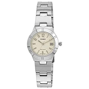 Casio Enticer Analog White Dial Women's Watch - LTP-1241D-7A2DF (A852)