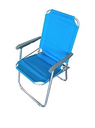 CARLO GUIDETTI OUTDOOR Gartenstuhl 2er Set Relax 54X54X87 blau