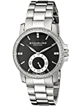 Stuhrling Original Analog Black Dial Women's Watch - 412.12111