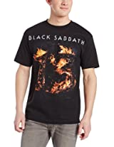 Bravado Men's Black Sabbath 13 T-Shirt, Dark Gray, X-Large