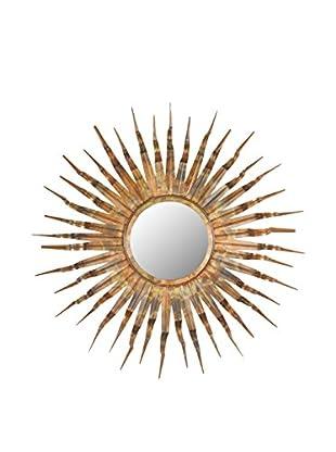 Safavieh Sun Mirror, Burnt Copper