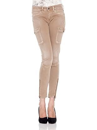 Pepe Jeans London Pantalón Claire (Marrón)