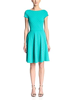 Leota Women's Cap Sleeve Fit and Flare Dress