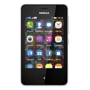 Nokia Asha 501 (Dual SIM, White)