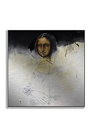 Gallery Direct Randy Slack Mona Black Artwork on Mounted Metal