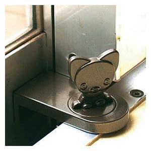 スマイルキッズ 窓の補助錠 防犯チワワロック ABA-20