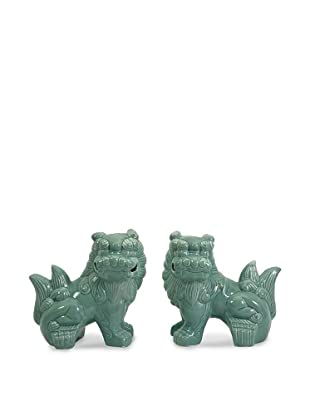 IMAX Set of 2 Choo Foo Dogs