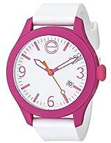 Esq Movado Esq Movado Unisex 07101431 One Analog Display Swiss Quartz White Watch - 7101431