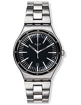Swatch Men's Irony YWS411G Silver Stainless-Steel Swiss Quartz Watch