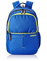 American Tourister 18 Liters Blue and Lime Casual Backpack (45W (0) 01 001)