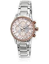 Sheen Ashn-5016D-4Adr-Sx096 Silver Chronograph Watch
