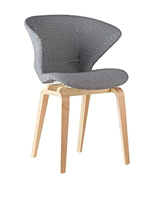 LO+DEMODA Set Silla 2 Uds. Parallel Prisma Pattern