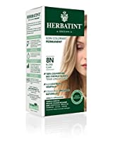 Bioforce Herbatint Permanent Herbal Haircolour Gel 8N Light Blonde - 135 Ml