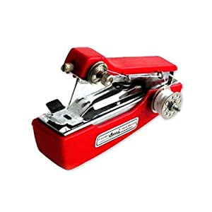 Mini Portable Hand Sewing Machine-Stapler Model - Red