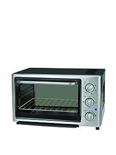 Kalorik 1500-Watt 4-Slice Toaster Oven (Black/Stainless Steel)