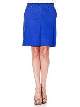 Cortefiel Falda Básica (Azul)