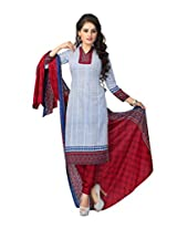 Vaamsi Cotton Polyester Mix Dress Material (Cocp23_Multi-Coloured_Free Size)