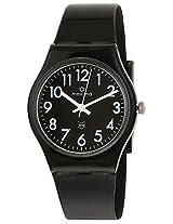 Maxima Aqua Regular Analog Black Dial Men's Watch - 02014PPGW