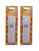 Mee Mee Baby Comb MM-1010 WHITE Pack Of 2