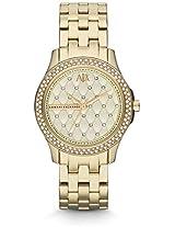 Armani Exchange Gold-Tone Ladies Watch Ax5216