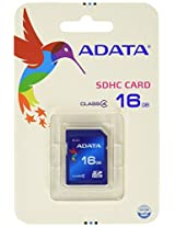 Adata SDHC 16 GB Class 4 Compact Flash Cards
