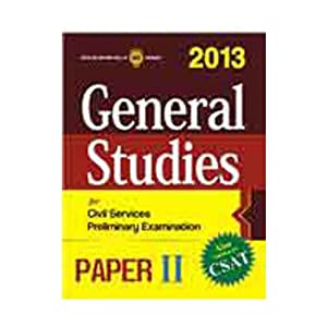 General Studies Paper II 2013 (CSAT)